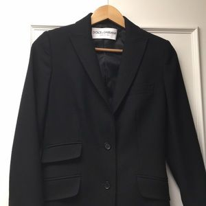 Black Dolce & Gabbana suit Jacket, size 40